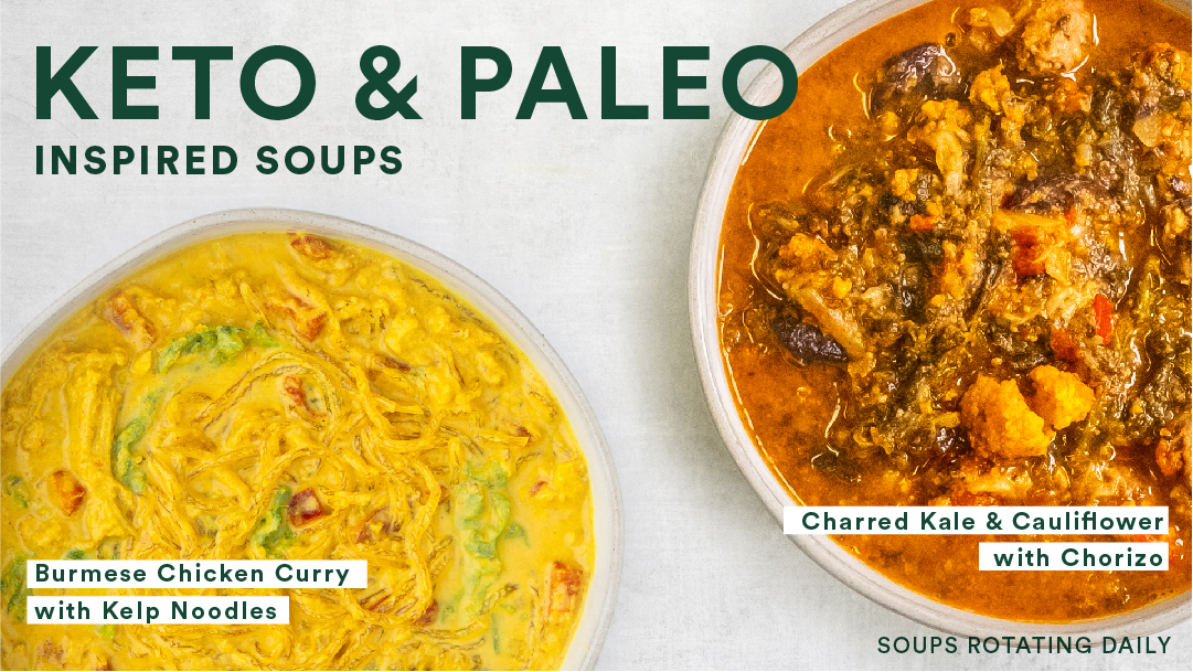 Keto and Paleo Inspired Soups