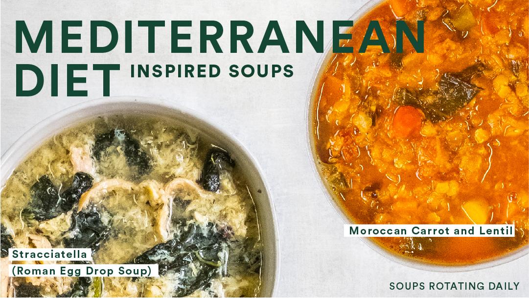 Mediterranean Diet Inspired Soups
