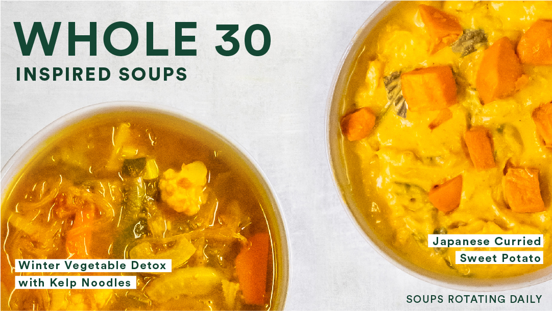 Whole 30 Inspired Soups