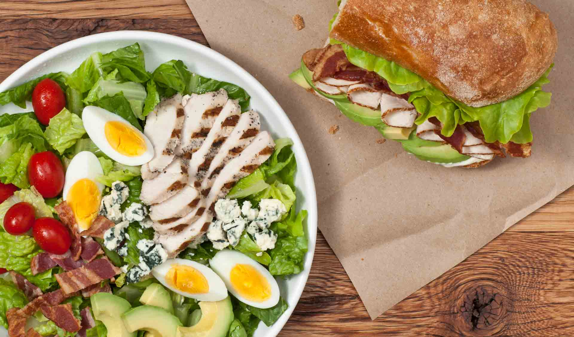 Perfect Pairings - Salads, Soups and Sandwiches at Ladle and Leaf