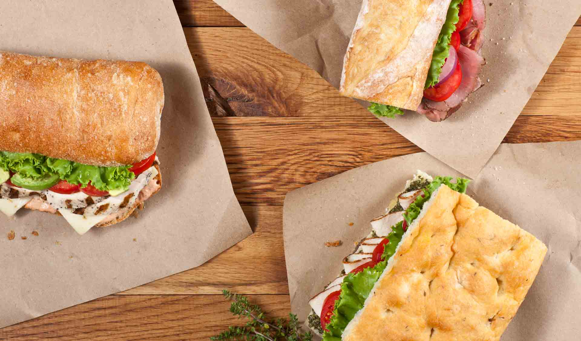 Sandwiches from Ladle and Leaf